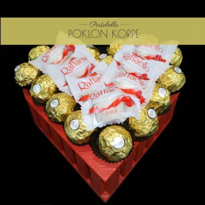 Poklon srce Ferrero & Raffaello 2