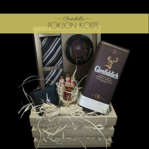 Poklon gajbica Glenfiddich Lux